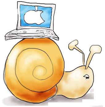מחשב אפל איטי תיקון