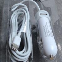 מטען רכב לנייד אפל USB-C (מק ט'אצבר)